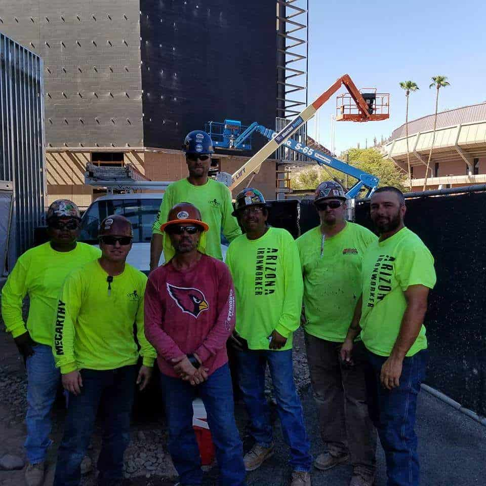 Pro Steel Construction Employees